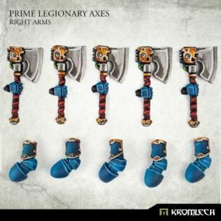Prime Legionaries CCW Arms: Axes [right] (5)
