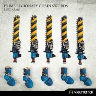 Prime Legionaries CCW Arms: Chain Swords [left] (5)
