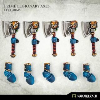 Prime Legionaries CCW Arms: Axes [left] (5)
