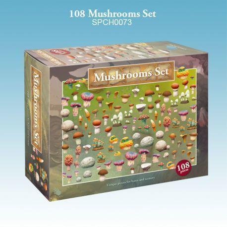 108 Mushrooms Set