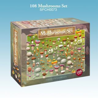 108 Mushrooms Set