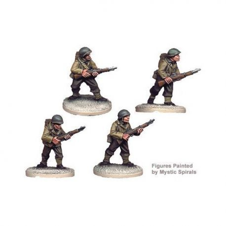 US Infantry Riflemen II (4 figs)