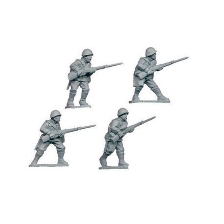 Russian riflemen II (4 figs)