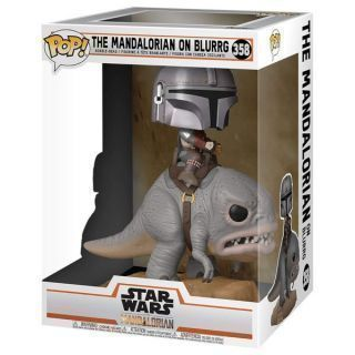Star Wars The Mandalorian POP! Deluxe Vinyl Figura The Mandalorian on Blurg 18 cm