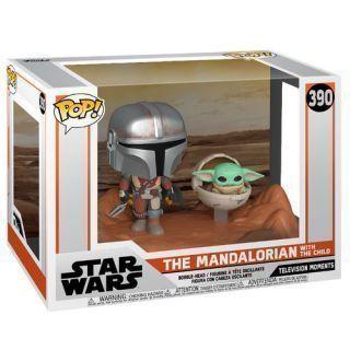 Funko POP! 390 Mandalorian - Mandalorian & The Child