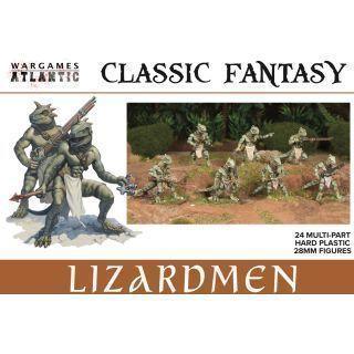 Classic Fantasy Lizardmen