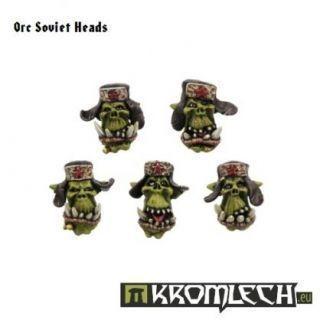 Orc Soviet Heads (10)