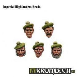 Imperial Highlanders Heads (10)