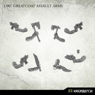 Orc Greatcoat Assault Arms (5)