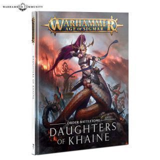 BATTLETOME: DAUGHTERS OF KHAINE HB/ABR. ESP