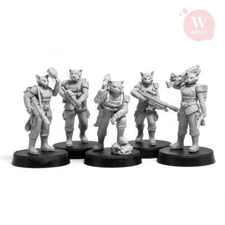 Catfolk Squad (5)