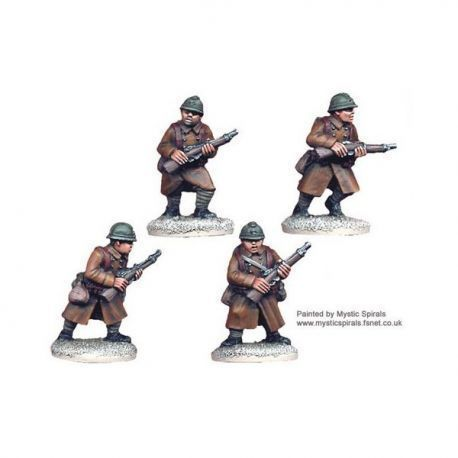 French Infantry with carbines (4 figs)