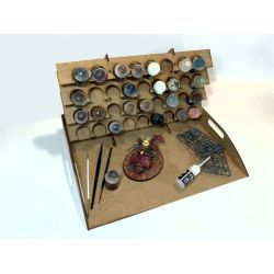 Frontal Painting Table FOR PAINTING MODELISM AND WARGAMES