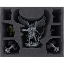 FOAM TRAY FOR MORTARION + FOETID BLOAT-DRONE + 4 MINIATURES