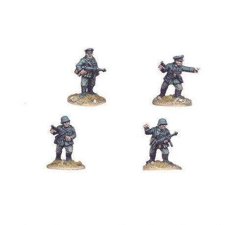 German Infantry Command (4 figs)