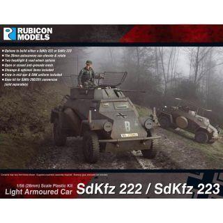 SdKfz 222/223 Light Armoured Car