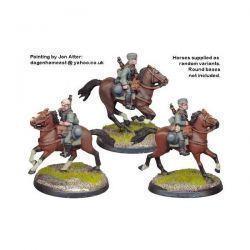 German Cavalry in side Caps (3)