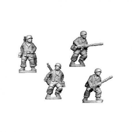 German Paratroopers LMG Teams