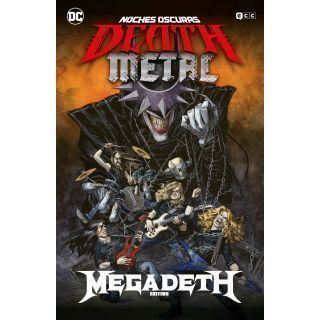 NOCHES OSCURAS: DEATH METAL NÚM. 01 DE 7 (MEGADETH BAND EDITION) (CARTONÉ)