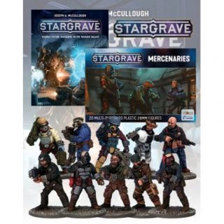 Deal 1b: Stargrave Rulebook and Mercenaries