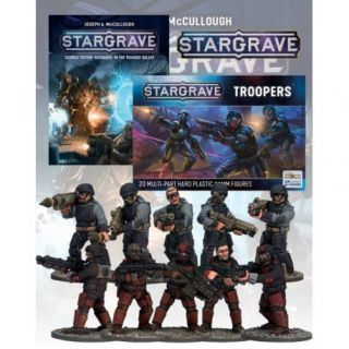 Deal 1c: Stargrave Rulebook and Troopers