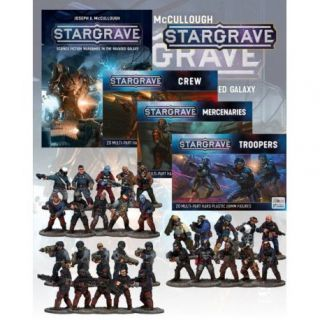 Deal 3: Stargrave Rulebook and all the Figures