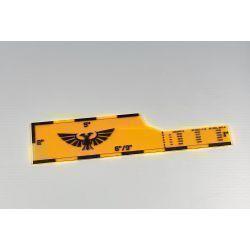 Xandre Ruler 40k 9ed - orange