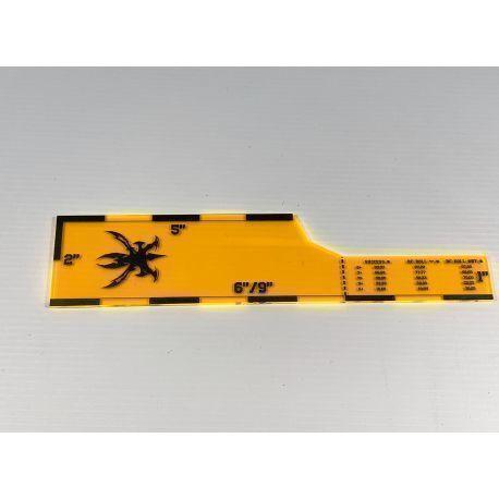 Xandre template 40k 9 ed- orange
