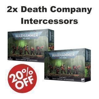 2x Death Company Intercessors