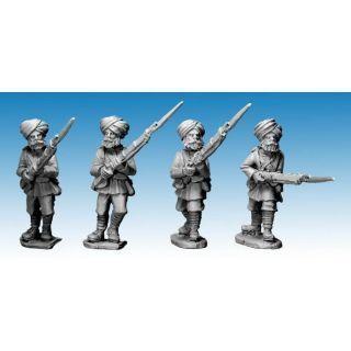 Sikh Infantry Advancing. 2nd Afghan War
