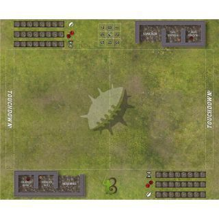 Fantasy Football Map Imperial- compatible with Blood Bowl