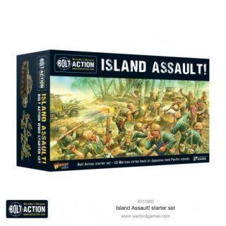 Bolt Action Starter Set. Island Assault