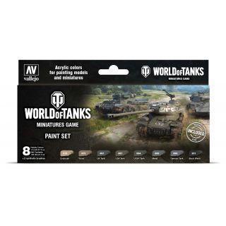 World of Tanks Miniatures Game Paint Set