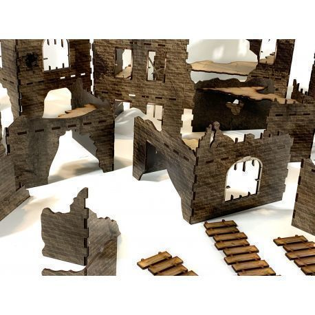 The Damned City - Prepainted and Modular Terrain pack