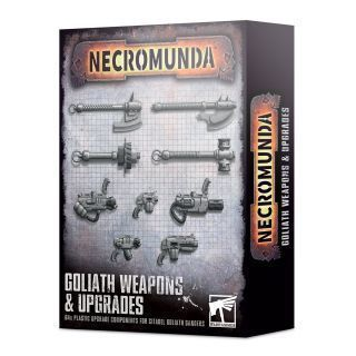 NECROMUNDA: GOLIATH WEAPONS AND UPGRADES