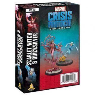 Crisis Protocol Scarlet Witch and Quicksilver EN