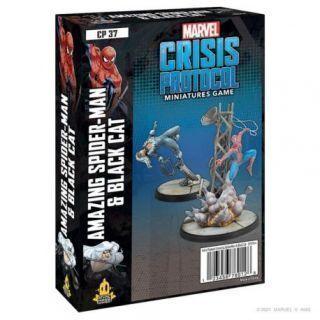 Crisis Protocol Amazing Spider-Man and Black Cat EN