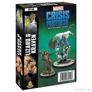 Crisis Protocol Lizard and Kraven EN
