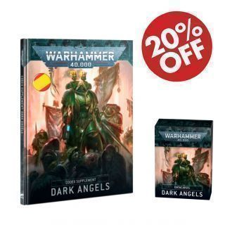 Dark Angels pack. Codex (ESP) + Datacards (ESP)