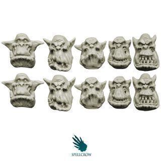Orcs Peons Heads