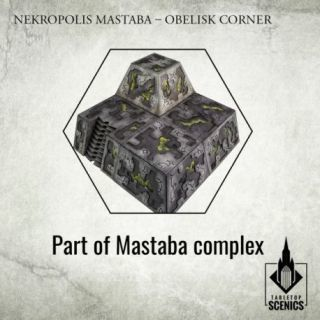 Nekropolis Mastaba – Obelisk Corner