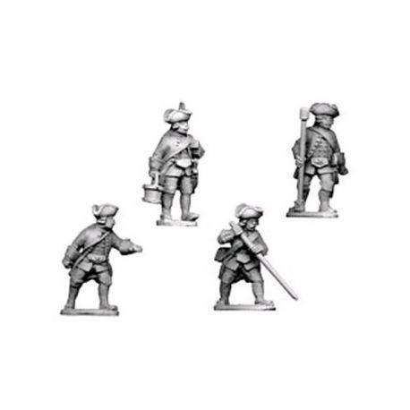 Austrian Artillery Crew (4 figures)