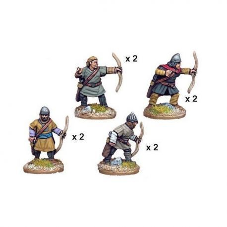 Unarmoured Spanish archers (8 figs)
