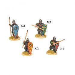 Norman Spearmen in Chain II (8 figs)