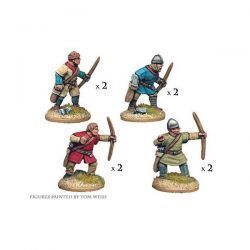 Unarmoured Norman Bowmen (8 figs)