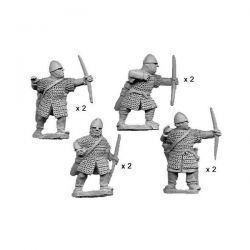 Norman Bowmen in Chainmail (8 figs)