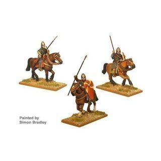 Norman Knights in chain with Spears II (3 cav figs)