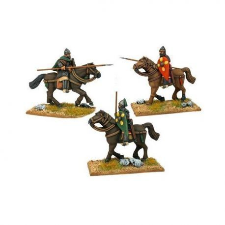 Tagmatic Kataphraktoi with Kontos (3 Cav Figures)