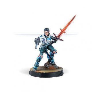 SHONA CARANO, ARISTEIA SWORDMASTER (SUBMACHINE GUN)