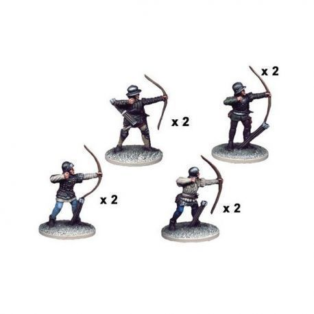 Wars of the Roses Armoured Longbowmen (8)